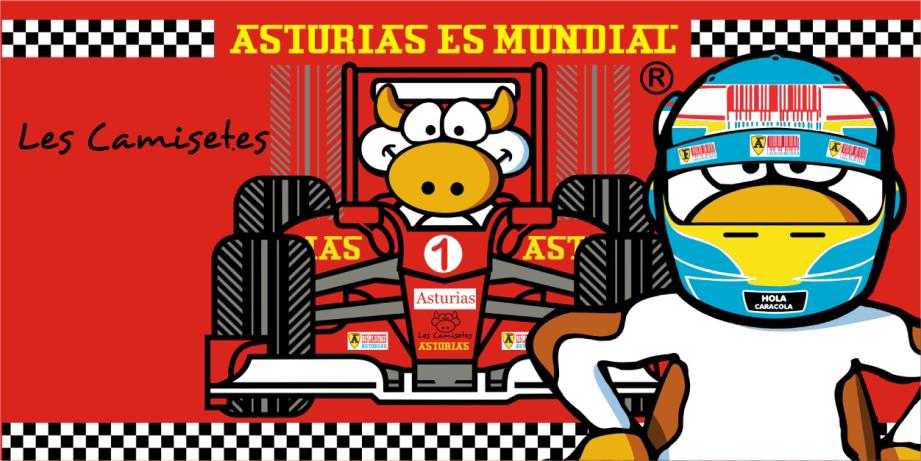 Les Camisetes con la Formula 1