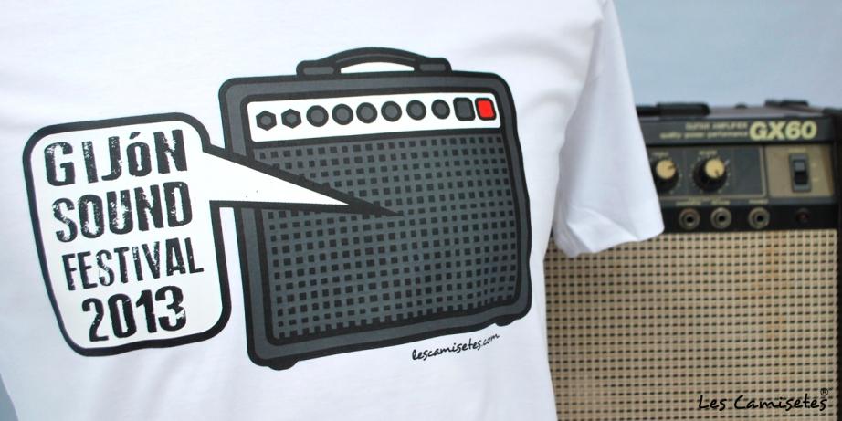 Camiseta oficial Gijón Sound Festival