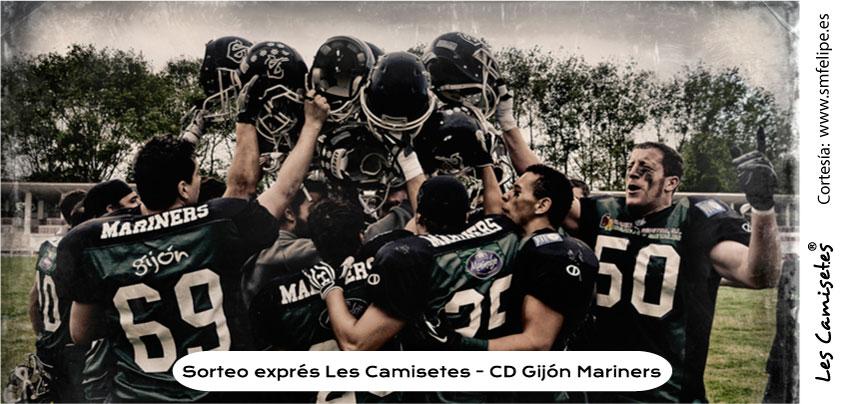 Sorteo exprés Les Camisetes - Gijón Mariners