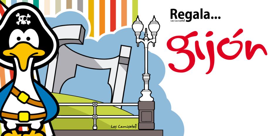 Diseño de los productos oficiales de Gijón Turismo